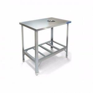 Стол производственный Техно-ТТ СПС-111/600 для сбора отходов