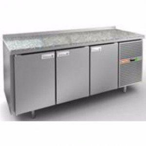 Охлаждаемый стол HiCold GN 111/TN, камен. столешн.
