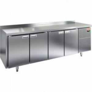 Стол морозильный HICOLD GN 1111/BT (-10-18), 4 двери, 2280х700х850мм