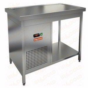 Стол открытый с охлаждаемой столешницей HiCold SO-12/7, (+2+7), 1200х700х850мм