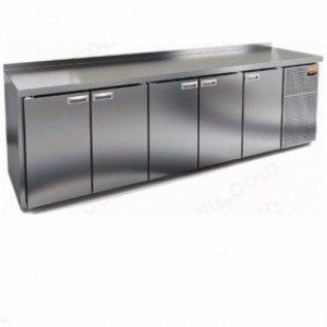 Стол морозильный GN 11111 BR2 BT (-10-18), 5 дверей, 2840х700х850мм