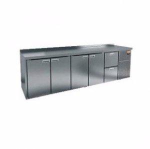 Стол морозильный GN 11112 BR2 BT (-10-18), 4 двери, 2 ящика 2840х700х850мм