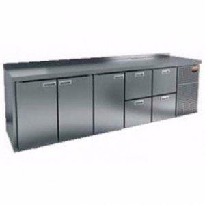 Стол морозильный GN 11122 BR2 BT (-10-18), 3 двери, 4 ящика 2840х700х850мм