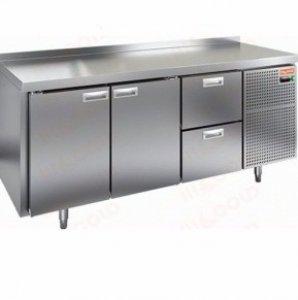 Стол морозильный GN 112/BT LT SH (-10-18), 2 двери, 2 ящика, 1835х700х590мм