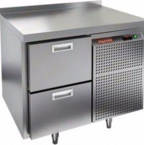 Стол морозильный HICOLD GN 2/BT (-10-18), 2 ящика, 900х700х850мм