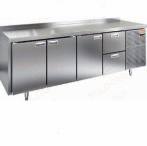 Стол морозильный GN 1112/BT LT SH (-10-18), 3 двери, 2 ящика, 2280х700х590мм
