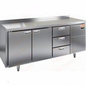 Стол морозильный GN 113/BT(-10-18), 2 двери, 3 ящика, 1835х700х850мм