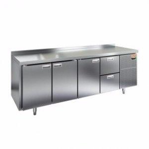 Стол морозильный HICOLD SN 1112/BT (-10-18), 3 двери, 2 ящика, 2280х600х850мм