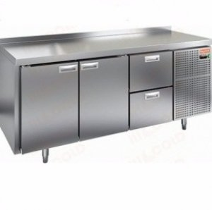 Стол морозильный HICOLD SN 112/BT (-10-18), 2 двери, 2 ящика, 1835х700х850мм