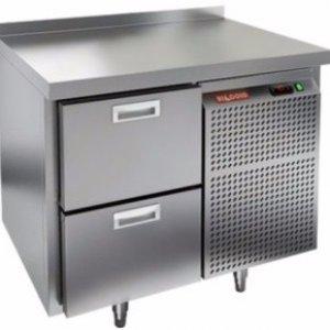Стол морозильный HICOLD SN 2/BT (-10-18), 2 ящика, 900х600х850мм