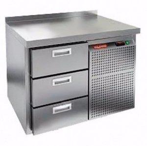 Стол морозильный HICOLD SN 3/BT (-10-18), 3 ящика, 900х600х850мм