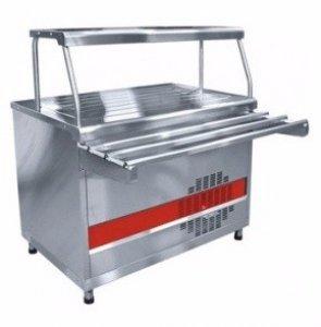 Прилавок холодильный Abat Аста ПВВ(Н)-70КМ-С-01-НШ