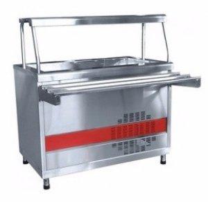 Прилавок холодильный Abat Аста ПВВ(Н)-70КМ-С-02-НШ