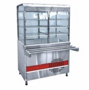 Прилавок-витрина холодильный Abat Аста ПВВ(Н)-70КМ-С-01-НШ