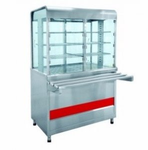 Прилавок-витрина тепловой Abat Аста ПВТ-70КМ