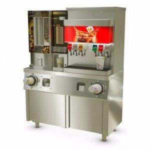 Стол-тумба с диспенсерами для стаканов Атеси СТД-2/1200-2 купе