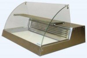 Витрина холодильная настольная ВХС-1,5 (нерж)