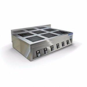 Плита индукционная Техно-ТТ ИПП-640145 6-ти конфорочная