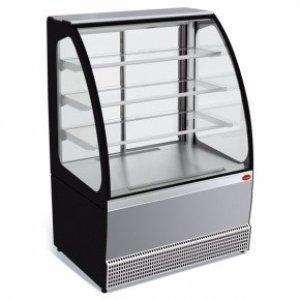 Витрина холодильная среднетемпературная демонстрационная МХМ Veneto VS-0.95, нержавейка