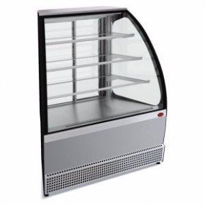Витрина холодильная среднетемпературная демонстрационная МХМ Veneto VS-UN, нержавейка