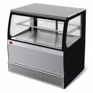 Витрина холодильная среднетемпературная демонстрационная МХМ Veneto VSk-0,95 (нерж.) кассовая