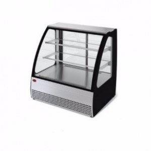 Витрина холодильная среднетемпературная демонстрационная МХМ Veneto VSo-1,3 нержавейка